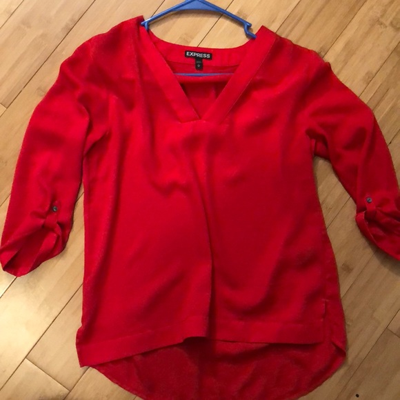 Express Tops - Red top